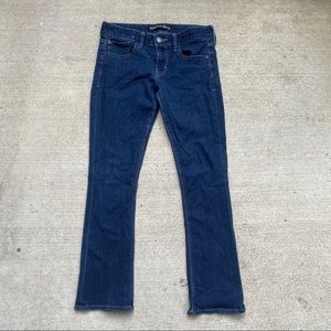 Express   Barely Boot Low Rise Jeans